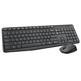 LOGITECH MK235 Wireless Keyboard Mouse Combo (Merchant) - Keyboard Mouse Combo
