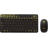 LOGITECH MK240 Nano Wireless Combo [920-008202] - Black - Keyboard Mouse Combo