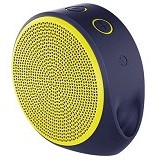 LOGITECH Mobile Wireless Speaker X100 [984-000370] - Purple/Yellow Grill