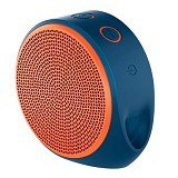 LOGITECH Mobile Wireless Speaker X100 [984-000371] - Blue/Orange Grill
