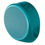 LOGITECH Mobile Wireless Speaker X100 [984-000376] - Cyan/Green Grill