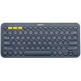 LOGITECH Multi Device Bluetooth Keyboard K380 [920-007596] - Black - Keyboard Basic