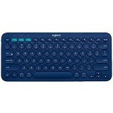 LOGITECH Multi Device Bluetooth Keyboard [K380] - Blue (Merchant) - Gadget Keyboard