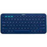 LOGITECH Multi Device Bluetooth Keyboard [K380] - Blue - Keyboard Basic