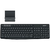 LOGITECH Multi-Device Wireless Keyboard and Stand Combo K375s [920-008250] - Keyboard Basic