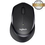 LOGITECH Silent Plus M330 [910-004905] - Black - Mouse Desktop
