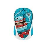LOGITECH Wireless Mouse M238 Doodle Collection [910-005060] - Skateburger - Mouse Basic