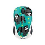 LOGITECH Wireless Mouse M238 Party Collection [910-004726] - Gorilla - Mouse Basic