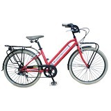 LONDON TAXI CRB L 26 Inch - Red - Sepeda Kota / City Bike