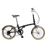 LONDON TAXI Folding Bike 20 inch - Black (Merchant) - Sepeda Lipat / Folding Bike