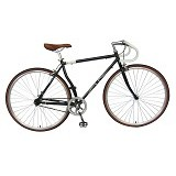 LONDON TAXI Roadbike 700C - Steel Black - Sepeda Balap / Racing Bike