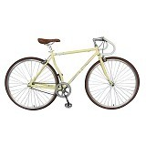 LONDON TAXI Roadbike 700C - Steel Cream - Sepeda Balap / Racing Bike