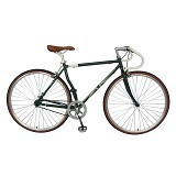 LONDON TAXI Roadbike 700C - Steel Green - Sepeda Balap / Racing Bike