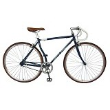 LONDON TAXI Roadbike 700C - Steel Navy - Sepeda Balap / Racing Bike