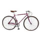 LONDON TAXI Roadbike 700C - Steel Purple - Sepeda Balap / Racing Bike