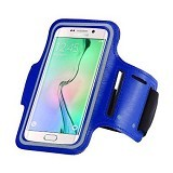 LONG CELL Armband for Smartphone 5 inch - Blue - Arm Band / Wrist Strap Handphone
