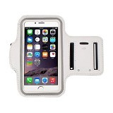 LONG CELL Armband for Smartphone 5 inch - White - Arm Band / Wrist Strap Handphone
