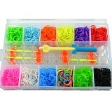 LOOM BANDS Jumbo Kontainer Sekat XXXL (Merchant) - Beauty and Fashion Toys
