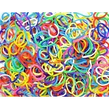 LOOM BANDS Rainbow Loom Rubber Bands Wangi Vanilla - Mix (Merchant) - Beauty and Fashion Toys