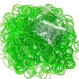 LOOM BANDS Rainbow Loom Wangi - Green (Merchant) - Beauty and Fashion Toys