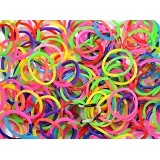 LOOM BANDS Reffil Rubber Loom Bands 2 Tone (Merchant) - Beauty and Fashion Toys