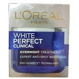 LOREAL PARIS White Perfect Clinical Overnight Treatment 50 ml (Merchant) - Krim / Pelembab Wajah