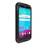 LOVE MEI Lunatik Powerful Case For LG G4 - Black - Casing Handphone / Case