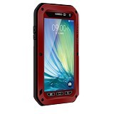 LOVE MEI Lunatik Powerful Case For Samsung Galaxy A3 - Red - Casing Handphone / Case