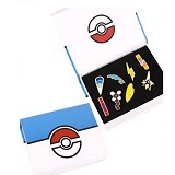 LOVELYNA STORE Bross Pokemon Simple Brooch [LSP102367D] - Blue White (Merchant) - Bros