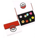 LOVELYNA STORE Bross Pokemon Simple Brooch [LSP102367E] - Red White (Merchant) - Bros