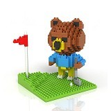 LOZ Bear Golf - Building Set Animal / Nature