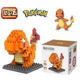 LOZ Block Charmander Figure Pokemon Pokeball (Merchant) - Building Set Movie