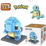 LOZ Block Squirtle Figure Pokemon Pokeball (Merchant) - Building Set Movie