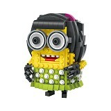 LOZ Blocks Dress Up Minion [1208] (Merchant) - Building Set Movie