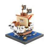 LOZ Blocks Going Merry One Piece [9828] - Building Set Transportation