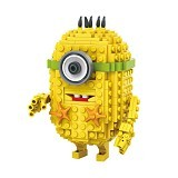 LOZ Blocks Kevin Despicable Me [1202] (Merchant) - Building Set Movie