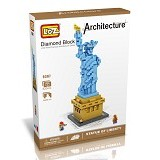 LOZ Blocks Statue of Liberty [9387] - Building Set Architecture