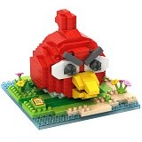 LOZ Gift Large Angry Bird [9512] - Red - Building Set Movie