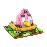 LOZ Gift Large Angry Bird [9517] - Pink - Building Set Movie