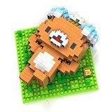 LOZ Gift Large Brown Bear Earphone [9434] - Building Set Animal / Nature