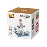LOZ Gift Large Olaf Frozen [9500] - Building Set Movie