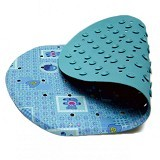 LUCKY BABY Laminated Non Slip Bath Mat 26 x 43cm [LB 1697- BL] - Blue - Baby Bath Tub and Accesories