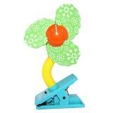 LUCKY BABY Mini Fan Safety Clip [LB 8975] - Green - Kipas Angin Meja