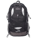 LUMINOX Hiking Backpack 30L [5025] - Hitam - Tas Carrier/Rucksack
