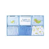 LUVABLE FRIENDS Grow With Me Baby Clothing Gift Set Boy - Setelan / Set Bepergian/Pesta Bayi dan Anak