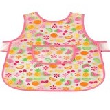 LUVABLE FRIENDS Luvable Friends Easy Clean Baby Apron Bib - Pink - Celemek Bayi / Bib
