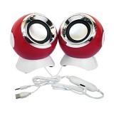 Luxon Speaker Portable [LX880] - Red (Merchant) - Speaker Computer Basic 2.0