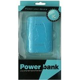 M-TECH Powerbank 6600mAh - Blue - Portable Charger / Power Bank