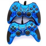 M-TECH Turbo Gamepad Double Getar (Merchant) - Gaming Pad / Joypad