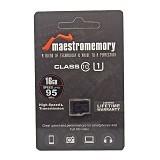 MAESTRO Memory Micro SDHC 16GB - Class 10 (Merchant) - Micro Secure Digital / Micro Sd Card